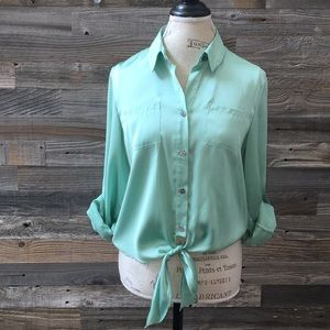 Vince Camino button down top size PM